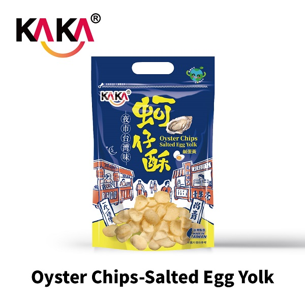 KAKA Oyster Chips-Salted Egg Yolk 80g